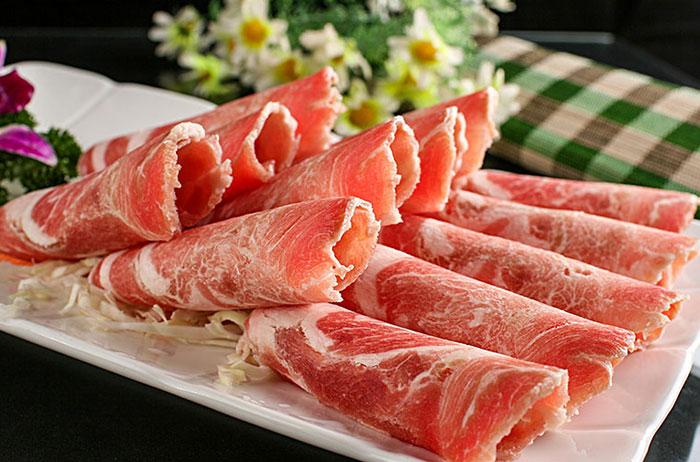 手切鲜羊肉